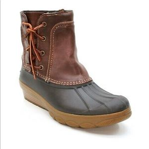 [Sperry] Quarter Saltwater Women's Duck Boots